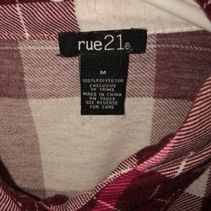 Rue21 Sweaters - Red flannel